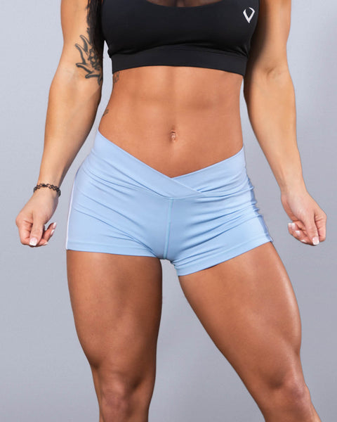 Desire Sky Blue Shorts - Violate The Dress Code