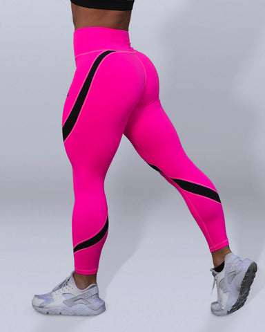 Desire Pink Leggings - Violate The Dress Code