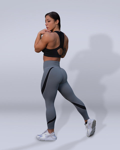 Desire Gray Leggings - Violate The Dress Code