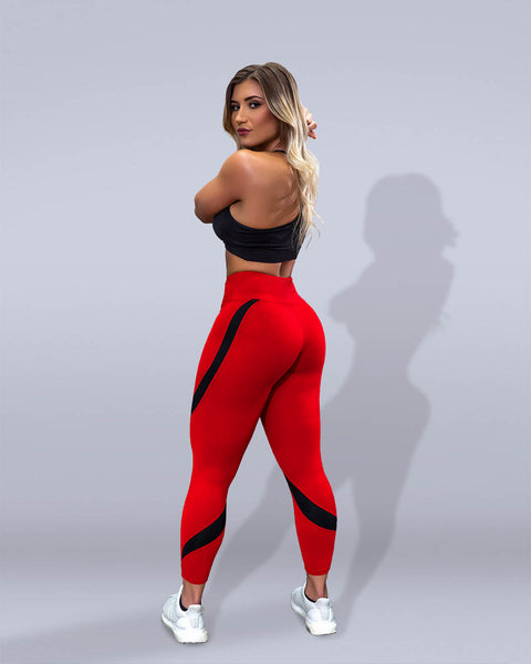 Desire Red Leggings - Violate The Dress Code