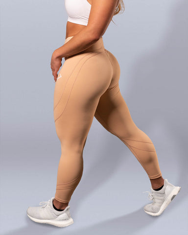Desire Peaches and Cream Leggings - Violate The Dress Code