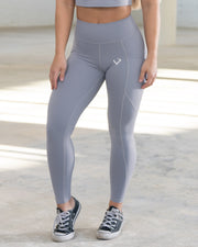 Luxe Grey Leggings