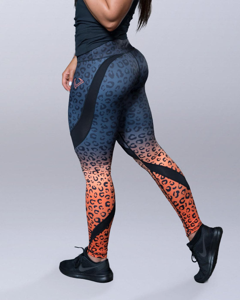 Leopard Print Leggings - Violate The Dress Code
