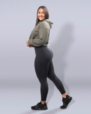 Luxe Black Leggings - Violate The Dress Code