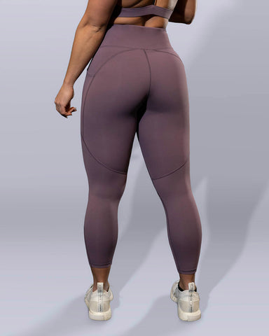 Luxe Mauve Leggings - Violate The Dress Code