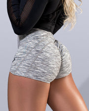 Luxe Static Scrunch Butt Shorts - Violate The Dress Code