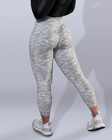 Luxe Static Scrunch Butt Leggings - Violate The Dress Code