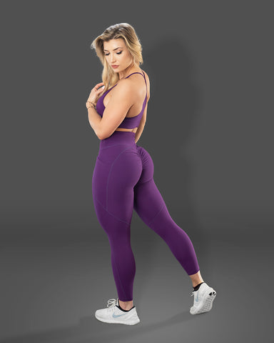Luxe Lollipop Scrunch Butt Leggings