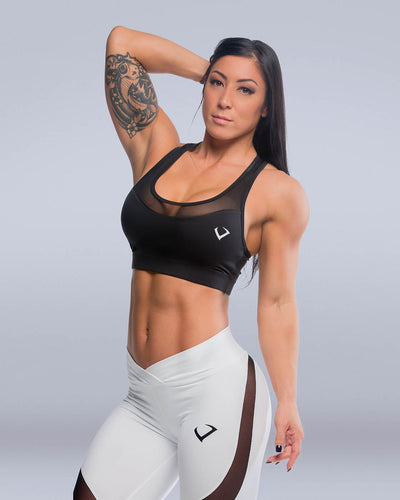 Siren Mesh Sports Bra - Violate The Dress Code