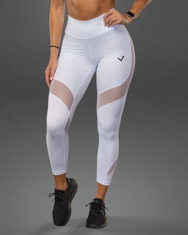 Luxe White Leggings