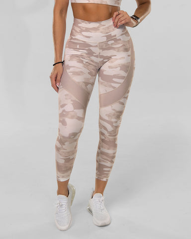 Tan Camo Leggings