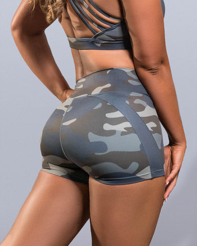 Vintage Camo Shorts - Violate The Dress Code