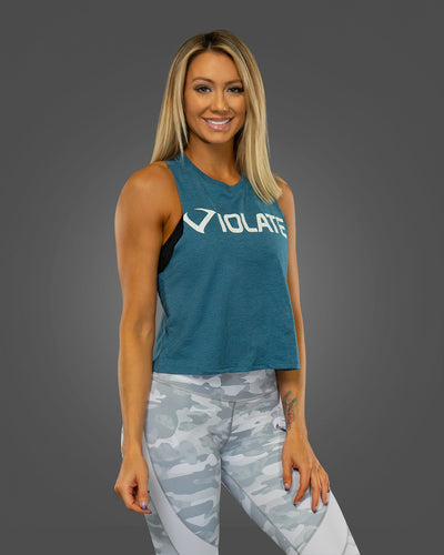 Vital Teal Crop Top