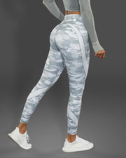 White Camo Leggings