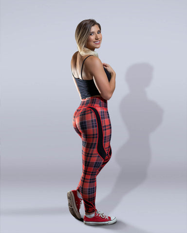 Plaid Leggings - Violate The Dress Code