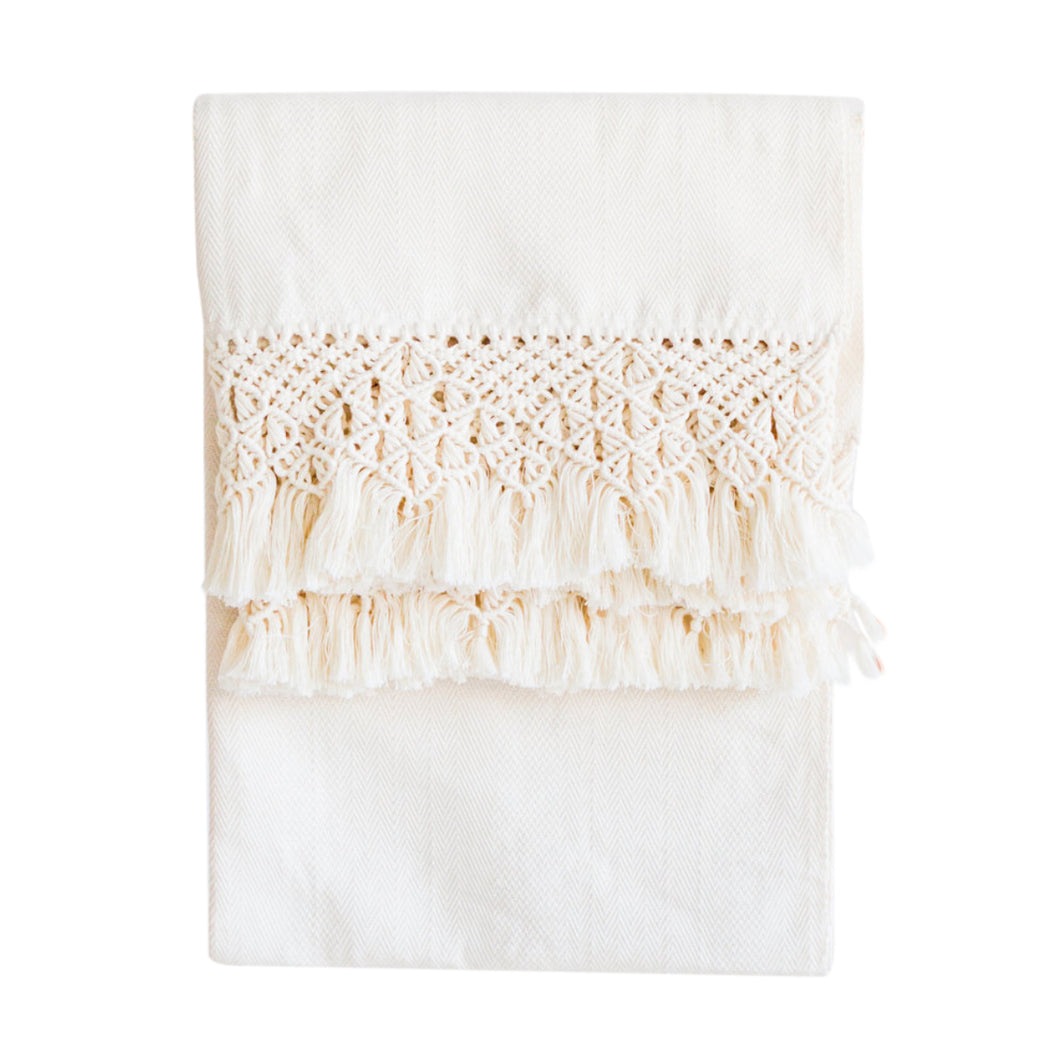 Azulina Home - Handmade Santa Marta Macrame Throw Blanket