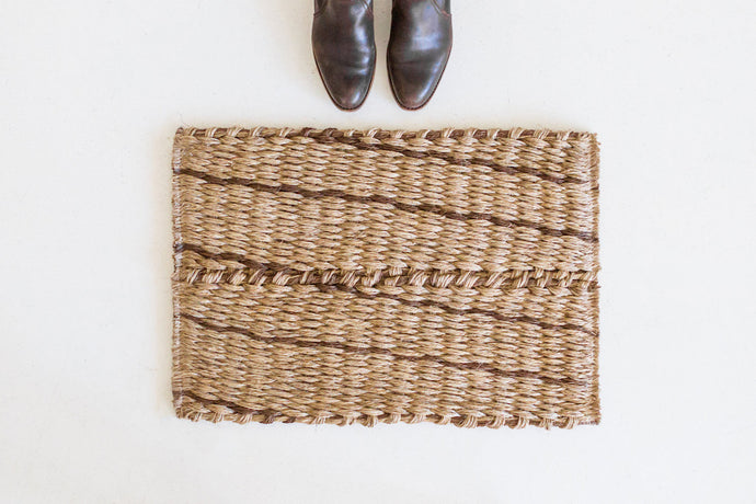 Door Mat - Walnut Lines