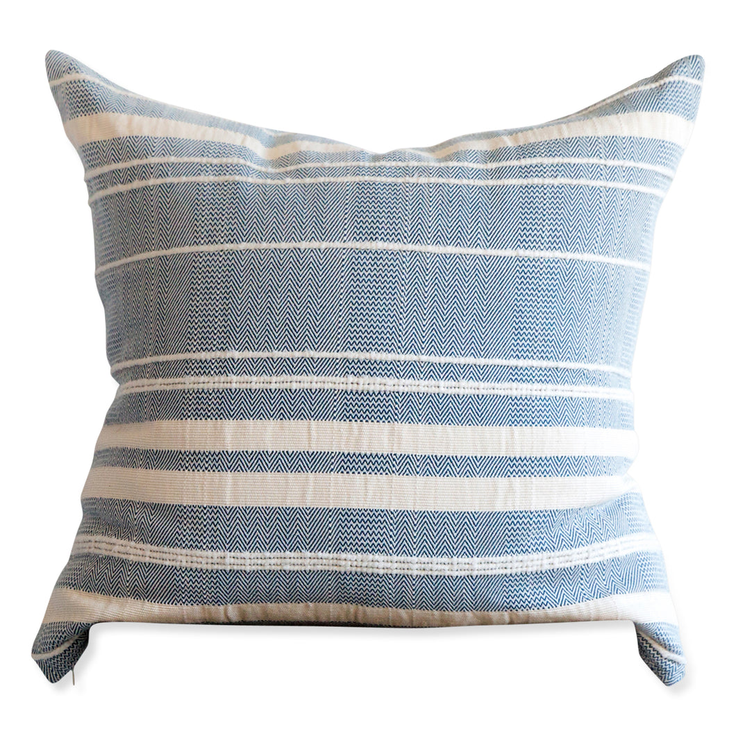 Azulina Home - Mar y Sol Pillow - Azure - 24