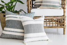 Chusco Grey Tassel Pillow