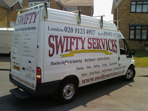 Canterbury Vehicle Graphics. Fitted van and car signs free design good prices by www.1st4signs.com