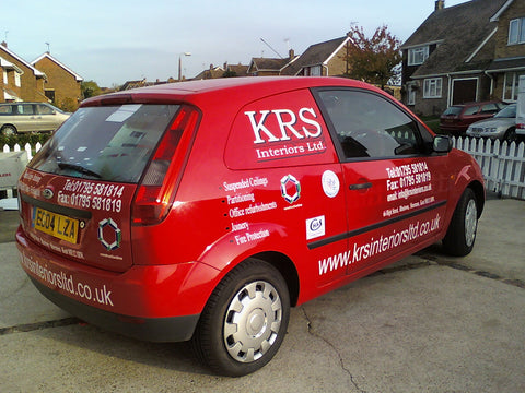 business car signs sheerness