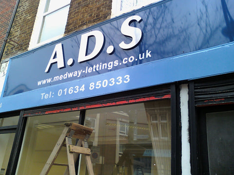 shop sign makers gillingham 1st 4 signs