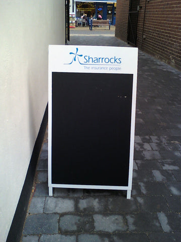 shop sign makers fitters and suppliers sheerness Kent 1st 4 signs a-boards