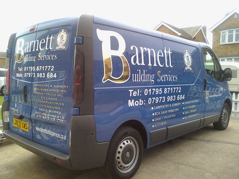 Rochester vehicle graphics made and fitted van and car signs free design and good pricesby 1st 4 Signs www.1st4signs.com