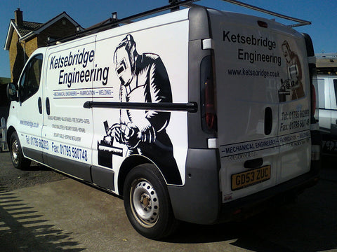 Faversham Vehicle Graphics. Fitted van and car signs free design good prices by www.1st4signs.com