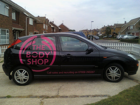 promotional car stickers swale