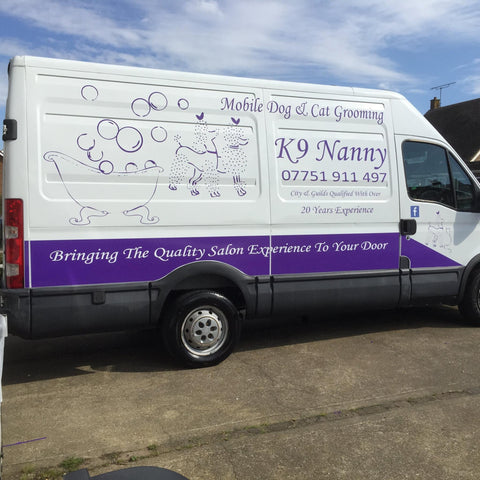 Dartford Vehicle Graphics. Fitted van and car signs free design good prices by www.1st4signs.com