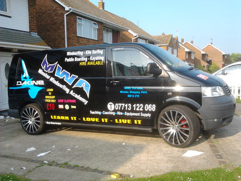Boughton Vehicle Graphics. Fitted van and car signs free design good prices by www.1st4signs.com