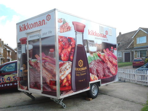 Faversham Catering Trailer Signs Graphics Wraps Printing | Commercial Lorries Trucks Boat Signs www.1st4signs.com