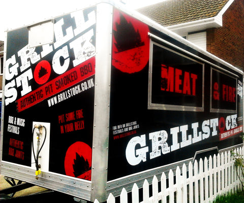 Swale Catering Trailer Signs Graphics Wraps Printing | Commercial Lorries Trucks | Boats | Bikes and all Signs www.1st4signs.com