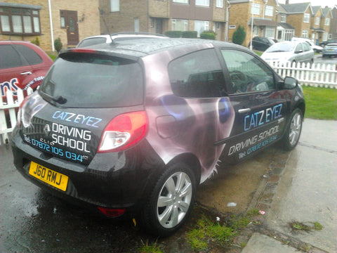 Car graphics that stand out by 1st 4 Signs