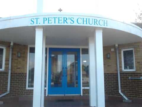 shop sign makers fitters and suppliers sheerness church Kent 1st 4 signs