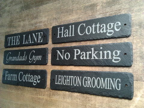 Slate house sign made in kent. Great reviews and customer feedback