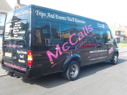 Lynsted Vehicle Graphics. Fitted van and car signs free design good prices by www.1st4signs.com
