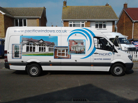 Newnham Vehicle Graphics. Fitted van and car signs free design good prices by www.1st4signs.com