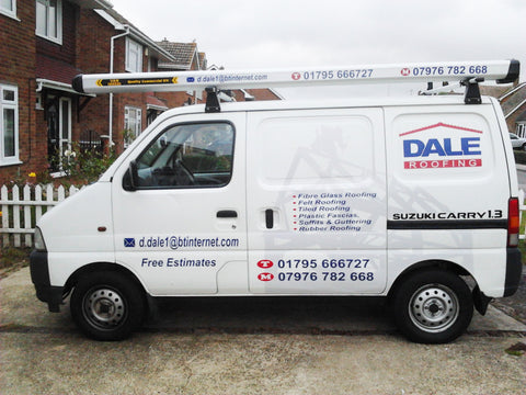 Bearsted Vehicle Graphics. Fitted van and car signs free design good prices by www.1st4signs.com