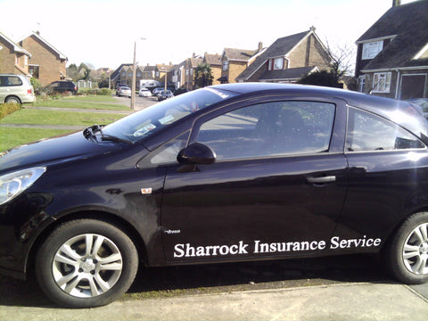 Sheerness Vehicle Graphics. Fitted van and car signs free design good prices by www.1st4signs.com