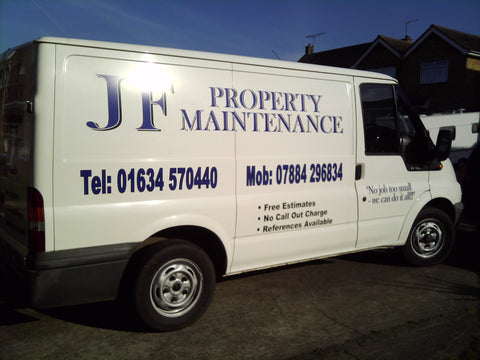 Rushenden Vehicle Graphics. Fitted van and car signs free design good prices by www.1st4signs.com
