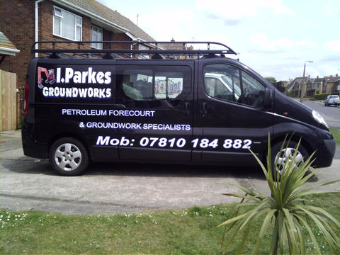 Queenborough Vehicle Graphics. Fitted van and car signs free design good prices by www.1st4signs.com