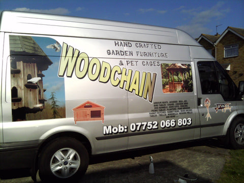 Eastchurch Vehicle Graphics. Fitted van and car signs free design good prices by www.1st4signs.com