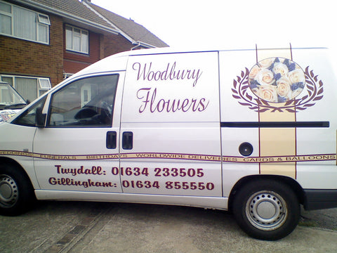 Medway Vehicle Graphics. Fitted van and car signs free design good prices by www.1st4signs.com