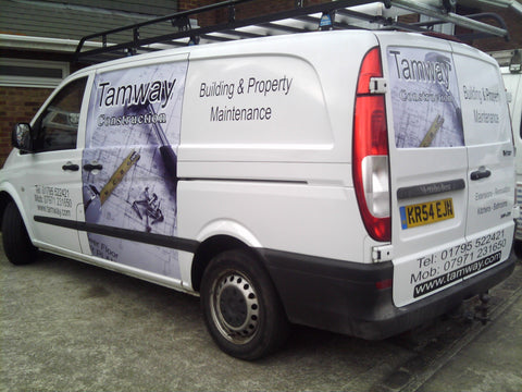 Strood Vehicle Graphics. Fitted van and car signs free design good prices by www.1st4signs.com