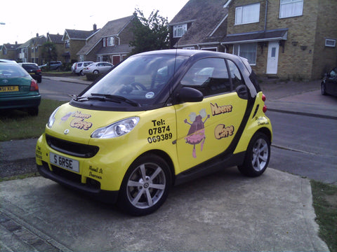 Isle of Sheppey Vehicle Graphics. Fitted van and car signs free design good prices by www.1st4signs.com