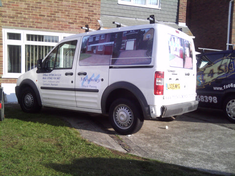 Iwade Vehicle Graphics. Fitted van and car signs free design good prices by www.1st4signs.com
