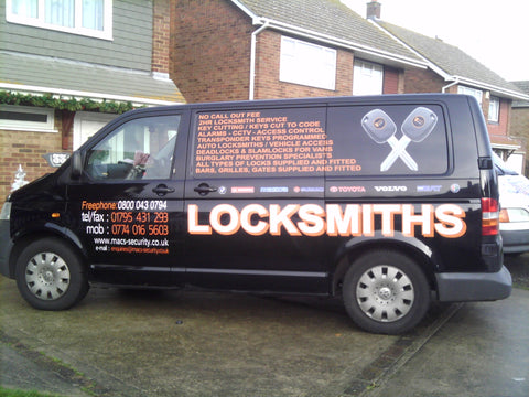 Teynham Vehicle Graphics. Fitted van and car signs free design good prices by www.1st4signs.com