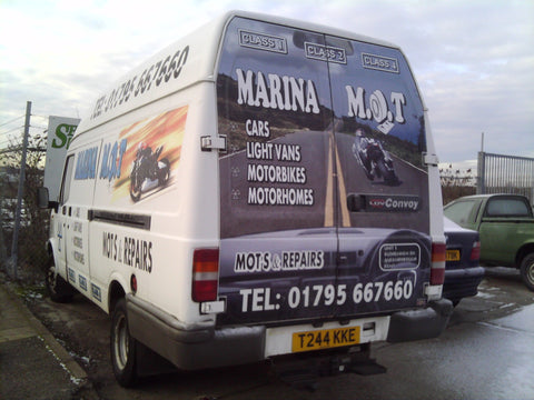 Doddington Vehicle Graphics. Fitted van and car signs free design good prices by www.1st4signs.com